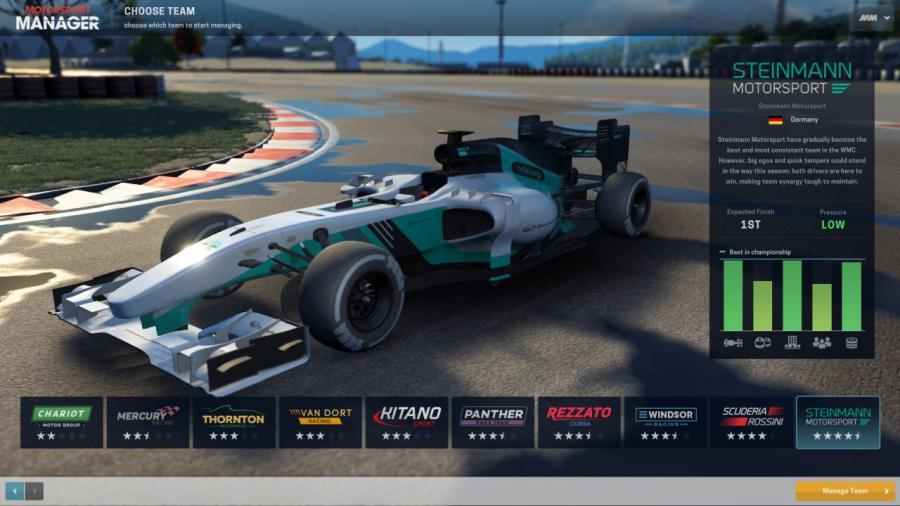 Motorsport Manager Screenshot 2