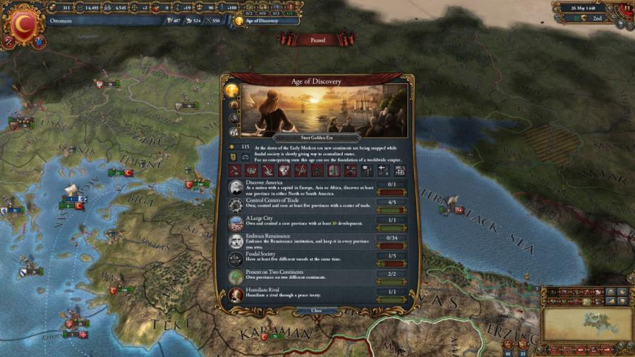 Europa Universalis IV - Mandate of Heaven (Addon) Screenshot 5