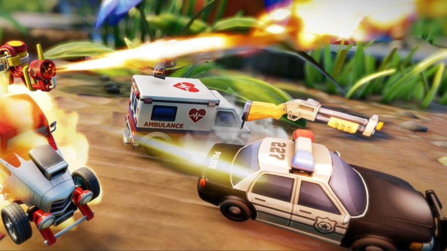 Micro Machines World Series Screenshot 5