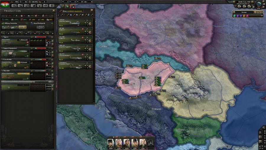 Hearts of Iron IV - Death or Dishonor (DLC) Screenshot 4