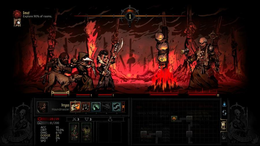 Darkest Dungeon - The Crimson Court (DLC) Screenshot 2
