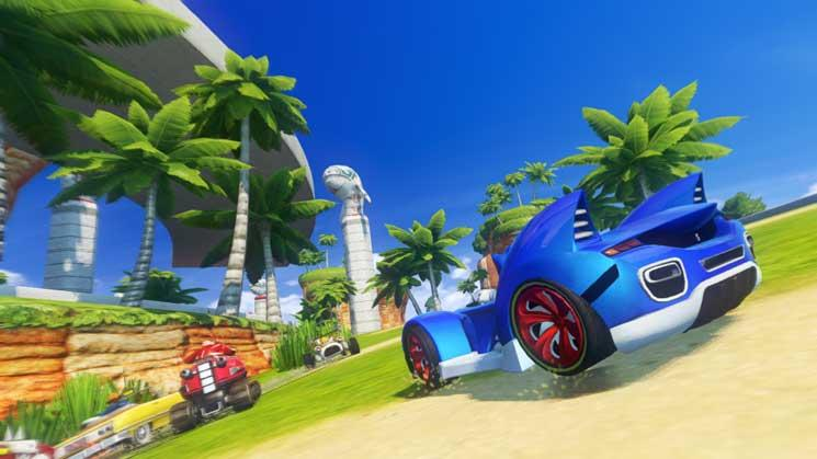 Sonic & SEGA All-Stars Racing Transformed - Steam Geschenk Key Screenshot 1
