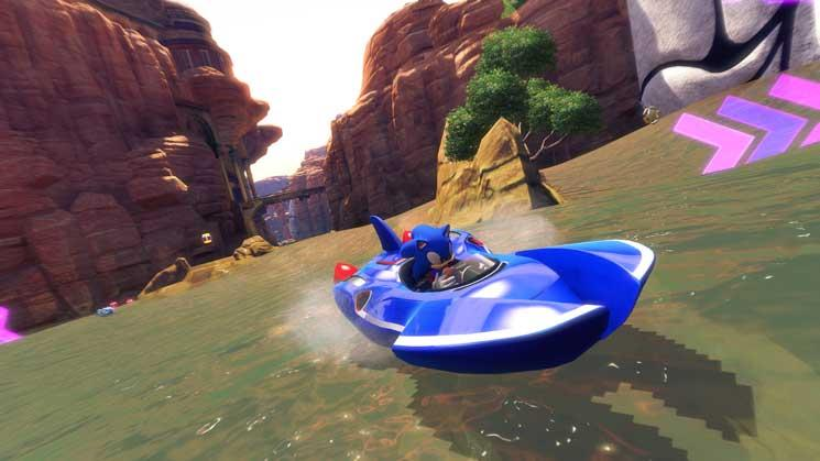 Sonic & SEGA All-Stars Racing Transformed - Steam Geschenk Key Screenshot 3