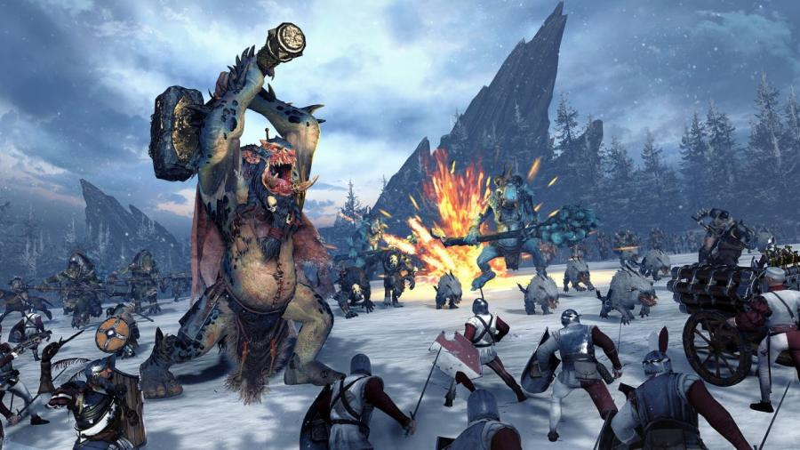 Total War Warhammer - Norsca DLC Screenshot 1