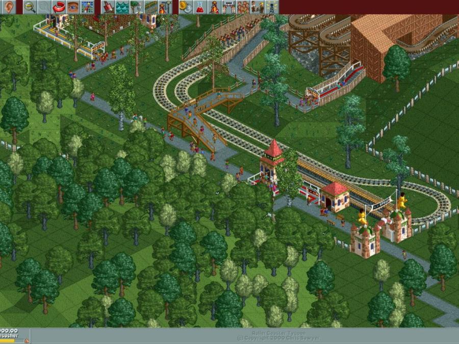 RollerCoaster Tycoon Deluxe Kaufen RCT Delux Key MMOGA - Minecraft rollercoaster spielen