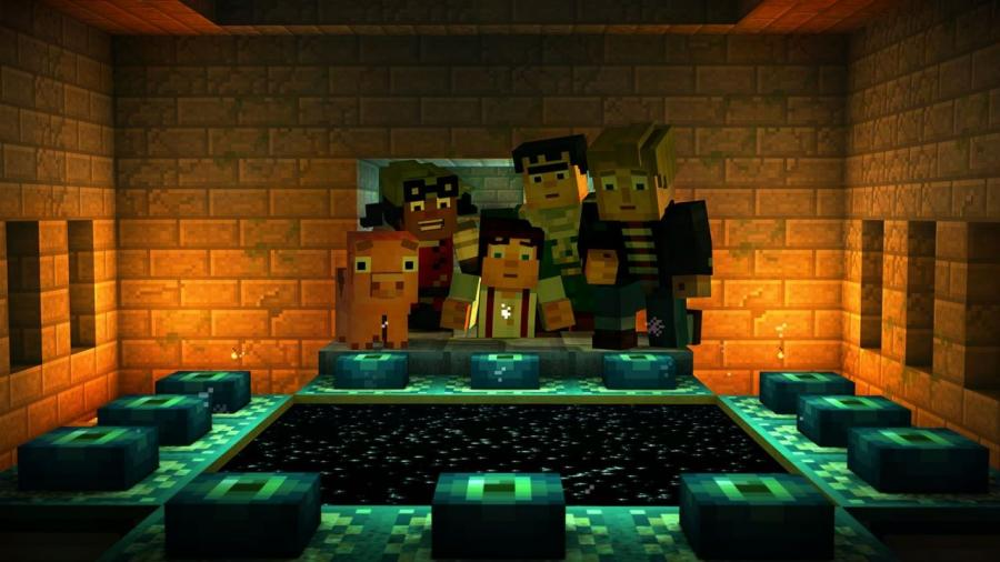Minecraft Story Mode - The Complete Adventure (Xbox One Download Code) Screenshot 3