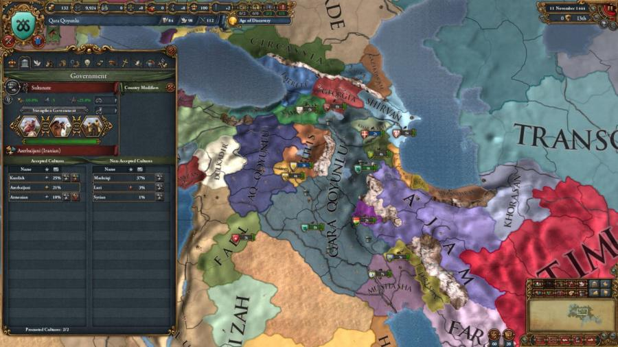Europa Universalis IV - Cradle of Civilization Collection Screenshot 1