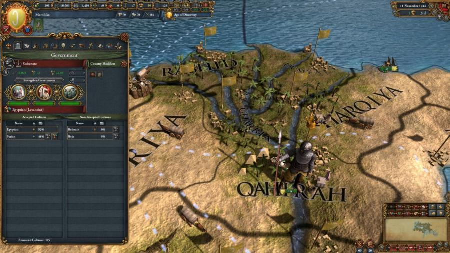 Europa Universalis IV - Cradle of Civilization Collection Screenshot 6