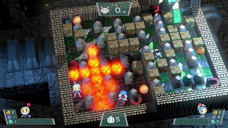 Super Bomberman R Screenshot 1