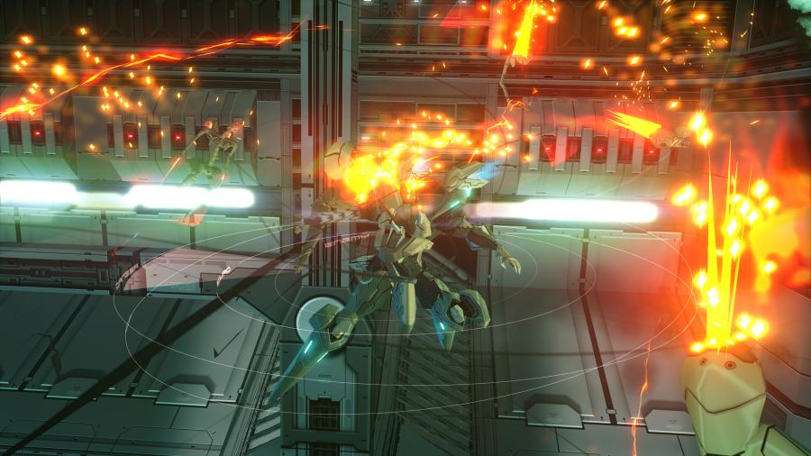 ZONE OF THE ENDERS The 2nd Runner: MARS Screenshot 1