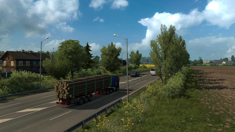Euro Truck Simulator 2 - Beyond the Baltic Sea (DLC) Screenshot 4