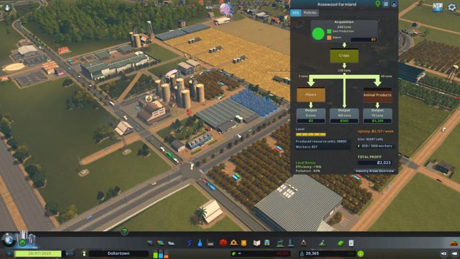 Cities Skylines - Industries Plus (DLC) Screenshot 5