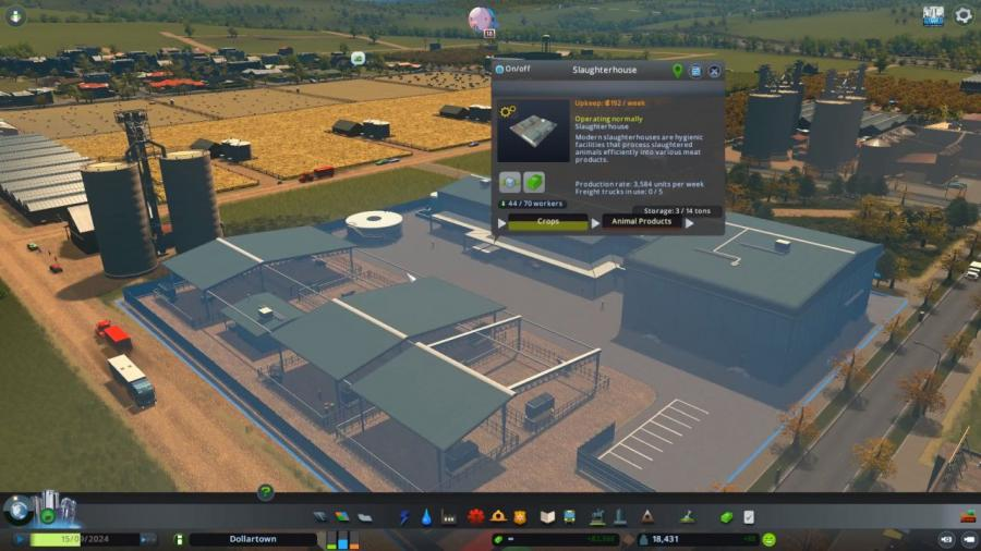 Cities Skylines - Industries Plus (DLC) Screenshot 4