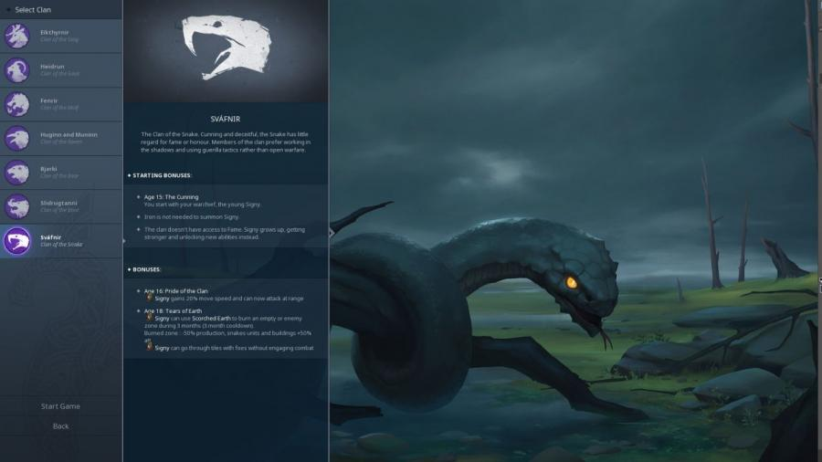 Northgard - Svafnir the Clan of the Snake (DLC) Screenshot 1