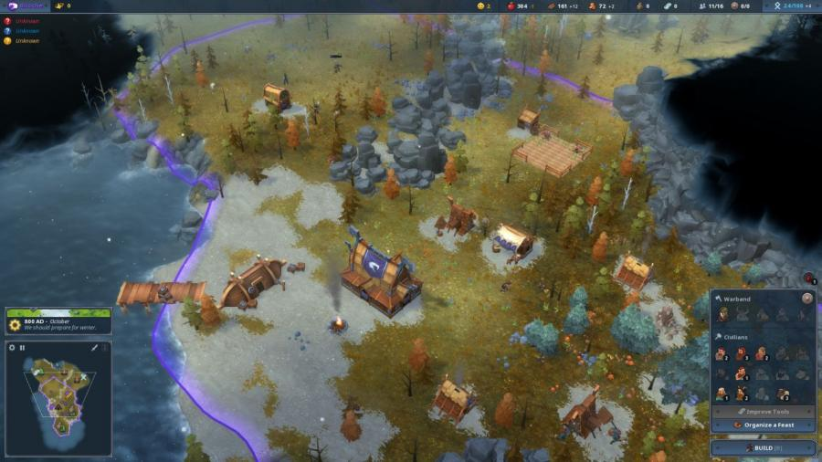 Northgard - Svafnir the Clan of the Snake (DLC) Screenshot 3