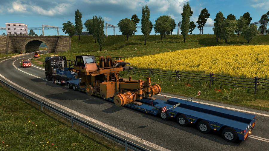 Euro Truck Simulator 2 - Special Transport (DLC) Screenshot 7