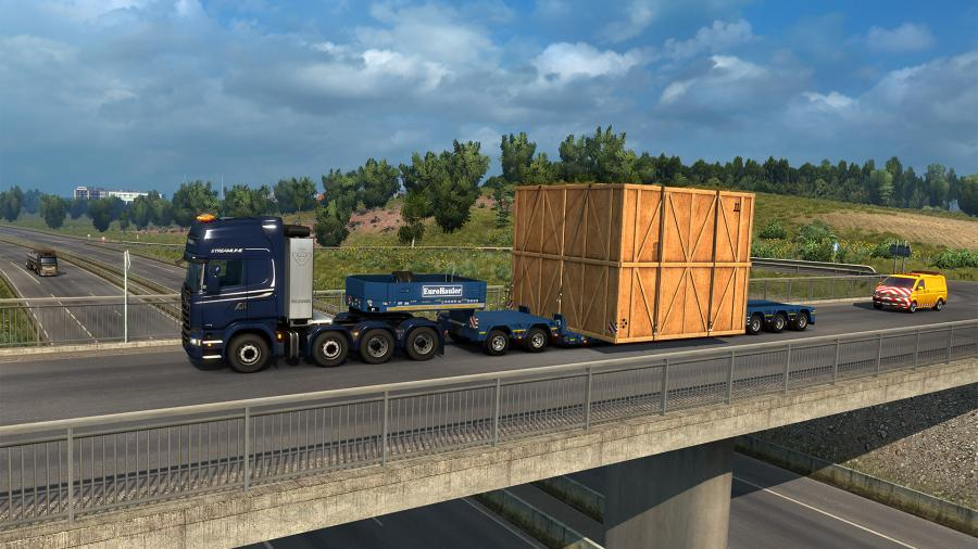 Euro Truck Simulator 2 - Special Transport (DLC) Screenshot 6
