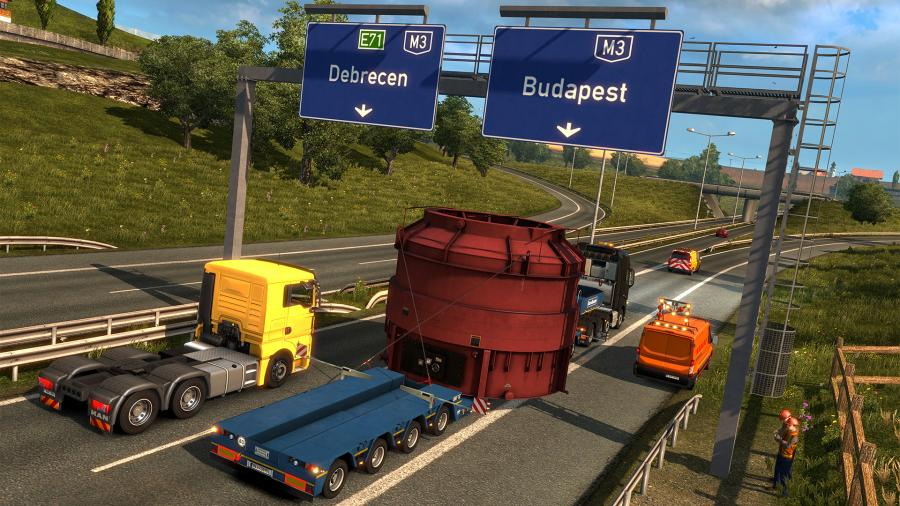 Euro Truck Simulator 2 - Special Transport (DLC) Screenshot 3