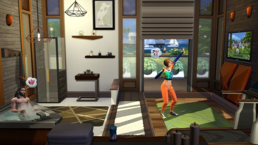 Die Sims 4 - Fitness-Accessoires (DLC)