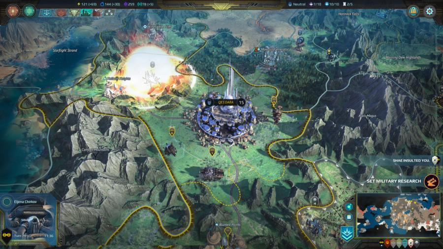 Age of Wonders - Planetfall Screenshot 9