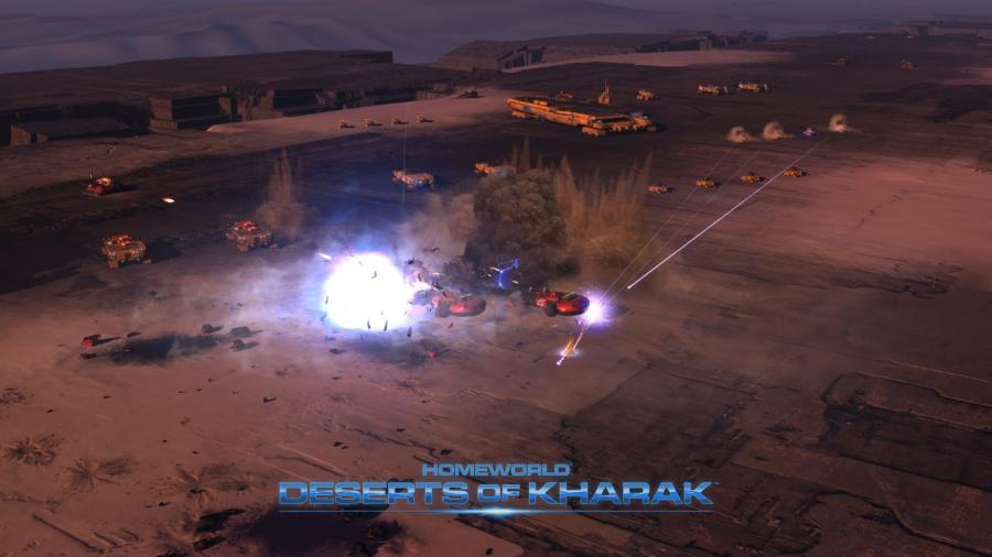 Homeworld - Deserts of Kharak Screenshot 4