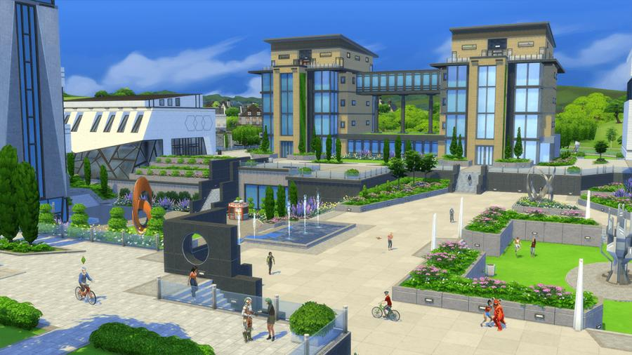Die Sims 4 - An die Uni! (DLC) Screenshot 2