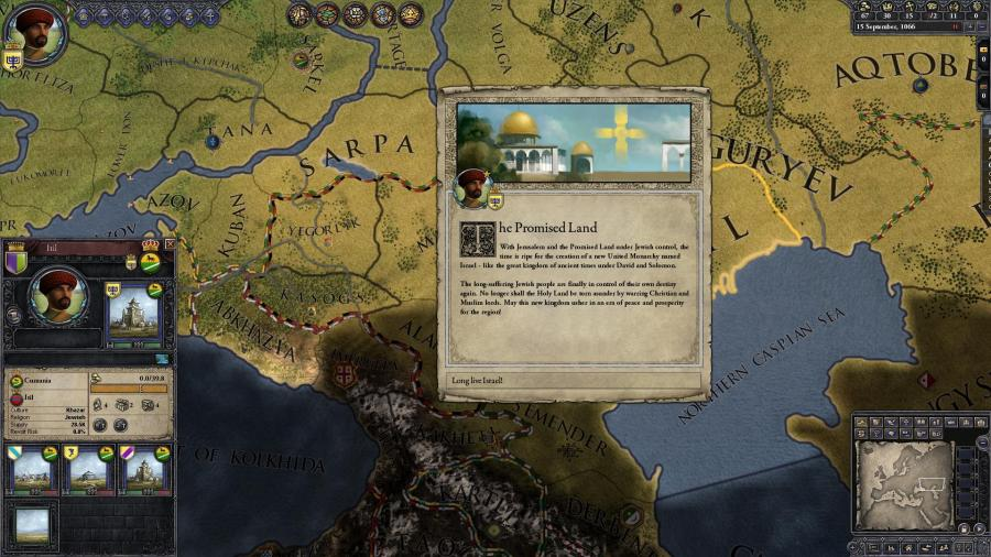 Crusader Kings II - Sons of Abraham (DLC) Screenshot 7