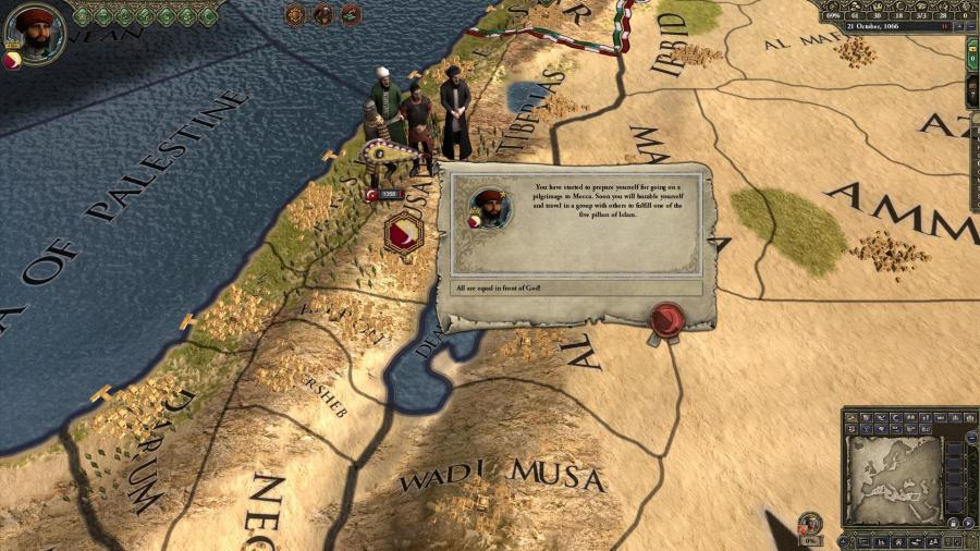 Crusader Kings II - Sons of Abraham (DLC) Screenshot 9