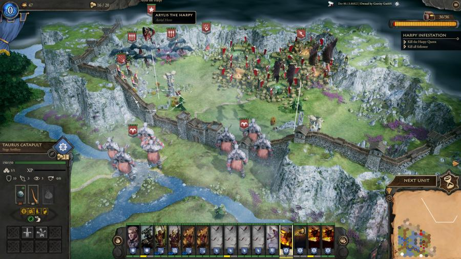 Fantasy General 2 - Invasion Screenshot 2