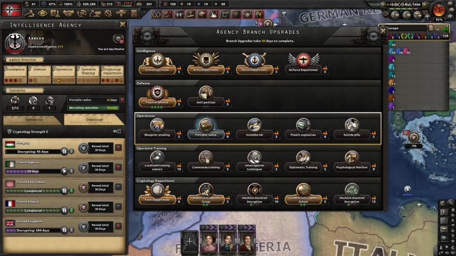 Hearts of Iron IV - La Resistance (DLC) Screenshot 3