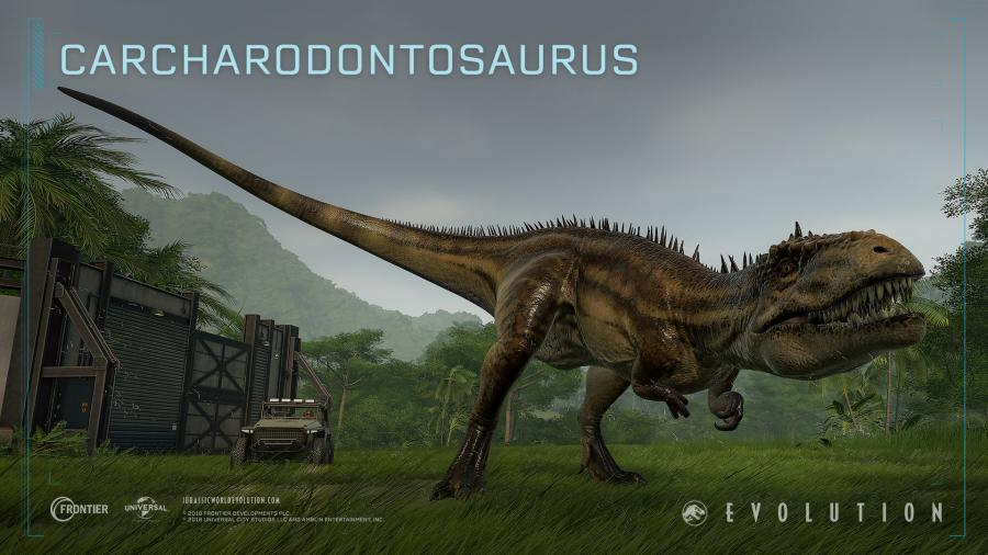 Jurassic World Evolution - Cretaceous Dinosaur Pack (DLC) Screenshot 2