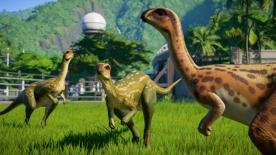 Jurassic World Evolution - Herbivore Dinosaur Pack (DLC) Screenshot 3