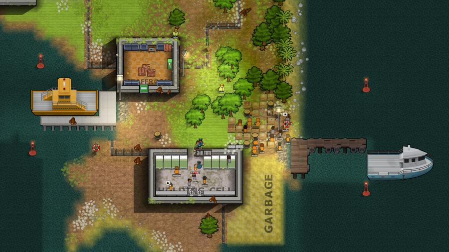 Prison Architect - Island Bound (DLC) Screenshot 2