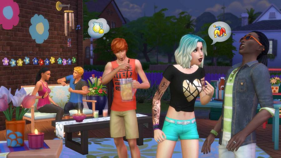 Die Sims 4 - Gartenspaß DLC (Backyard Stuff) Screenshot 4