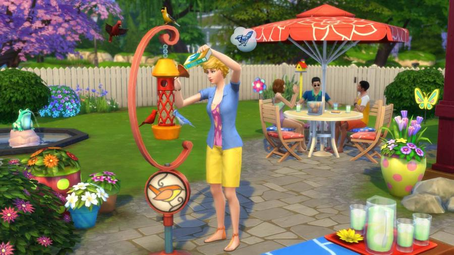 Die Sims 4 - Gartenspaß DLC (Backyard Stuff) Screenshot 3