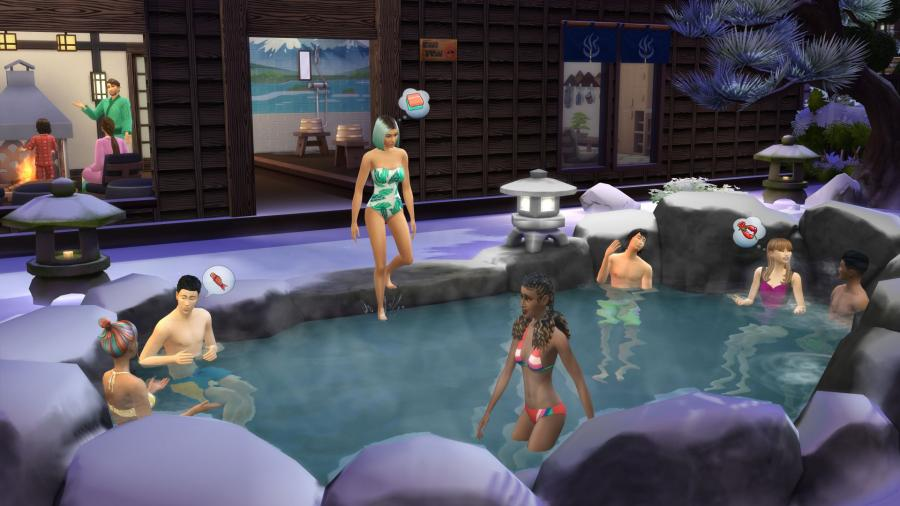 Die Sims 4 - Ab ins Schneeparadies DLC (Snowy Escape) Screenshot 3