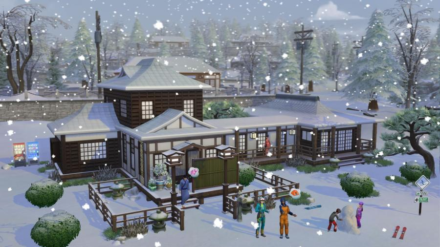Die Sims 4 - Ab ins Schneeparadies DLC (Snowy Escape) Screenshot 5