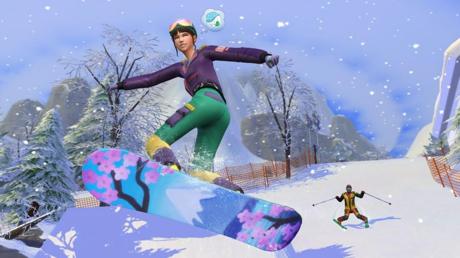 Die Sims 4 - Ab ins Schneeparadies DLC (Snowy Escape) Screenshot 4